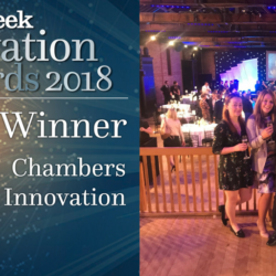Delighted to win the Chambers award at the Legal Week Innovation Awards (our fifth in five months)